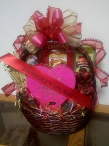 Valentine's Day Gift Baskets- Dessert's On Me!