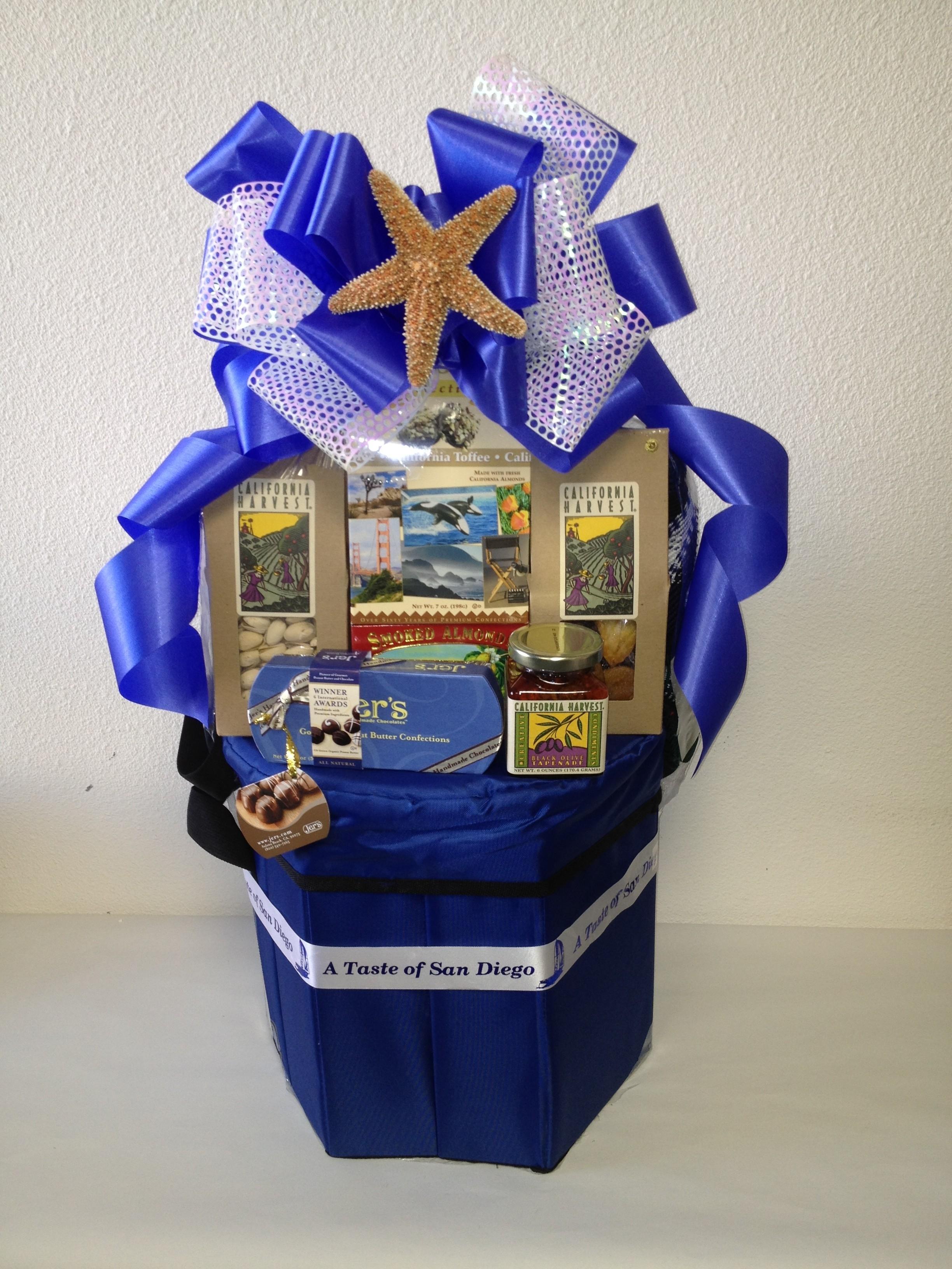 Wedding Gift Baskets San Diego : Coolest Summer Gift Basket San Diego Gift Basket Creations