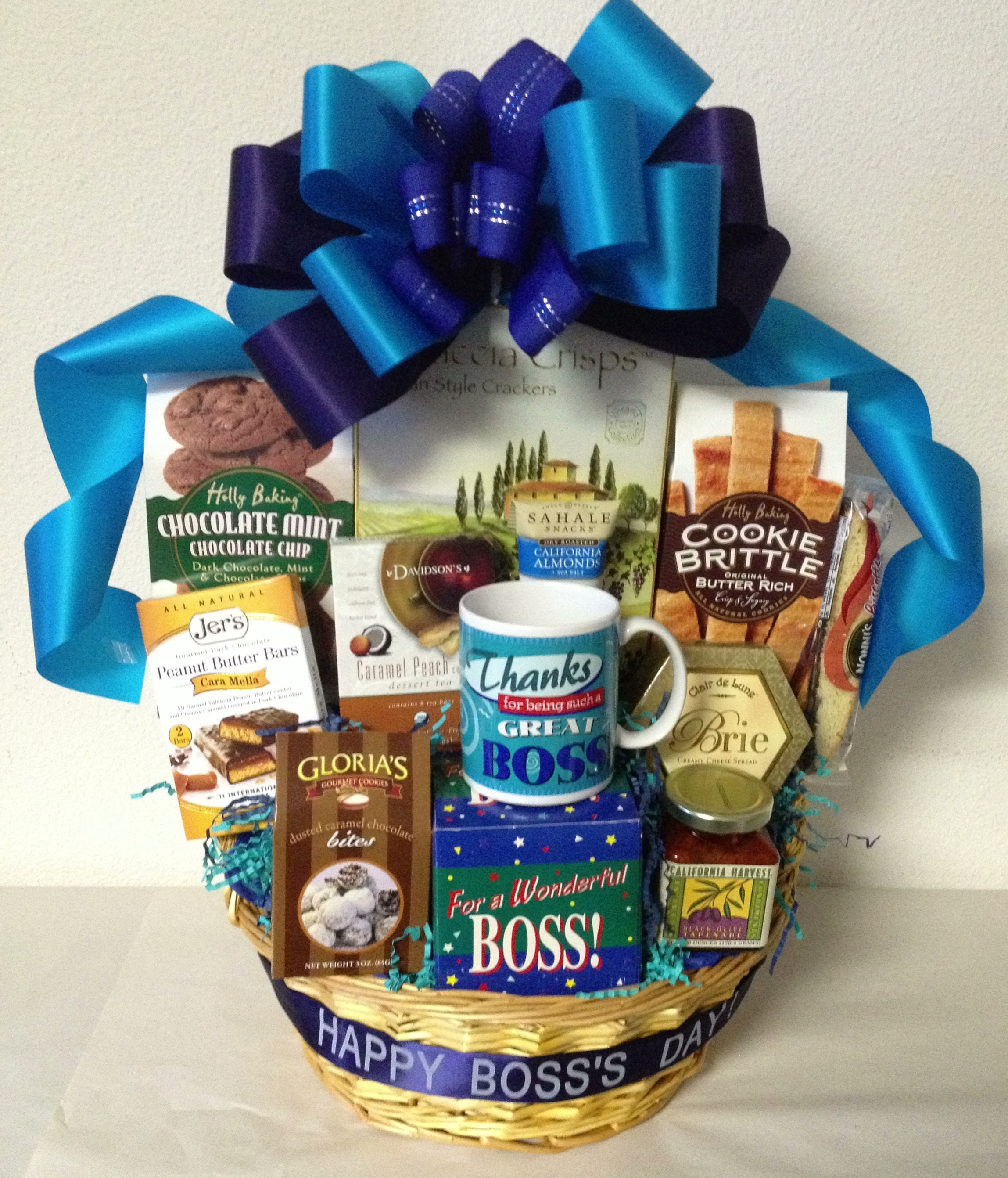 Wedding Gift For Bosss Daughter : Bosss Day Gift Baskets San Diego Gift Basket Creations