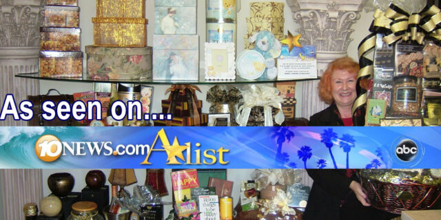 Gift Basket Company The Best To You Nominated On 10 News San Diego A-List