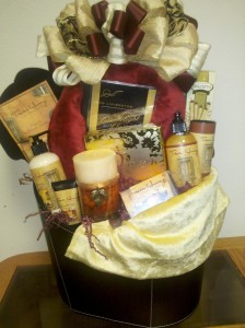 Luxury For All The Senses In A Gift Basket