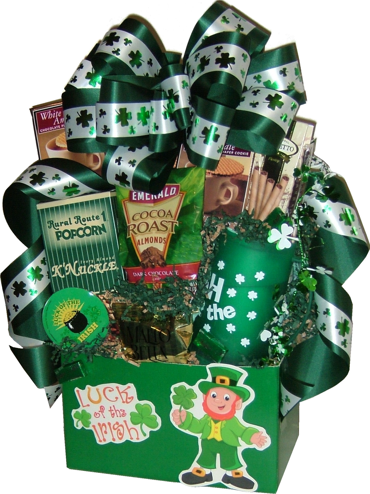 Lucky You\'re My Client! Gift Baskets | San Diego Gift Basket Creations