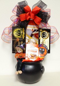 Sweet And Spooky Halloween Basket