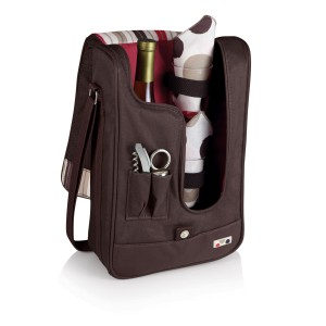 Elegant Wine Tote With Accessories for two.