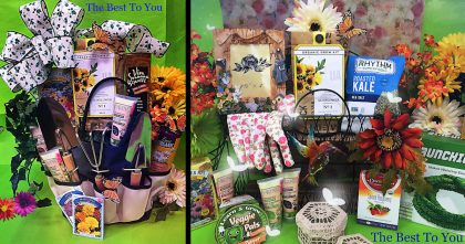 The best to you gardening baskets for spring and easter negle Gallery