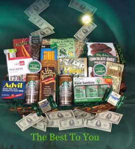 Tax Time Survival Baskets