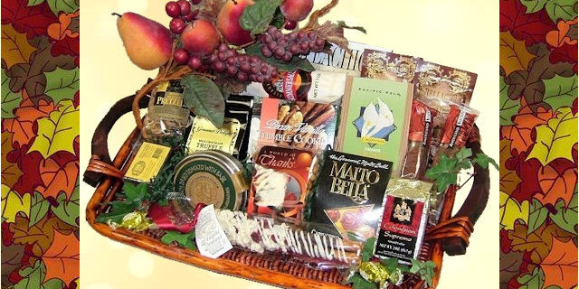 Fall And Thanksgiving Gift Baskets