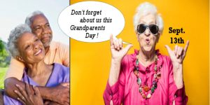 Grandparent's Day Is September 13, 2020